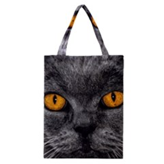 Cat Eyes Background Image Hypnosis Classic Tote Bag by BangZart