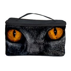Cat Eyes Background Image Hypnosis Cosmetic Storage Case by BangZart