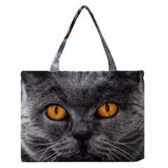 Cat Eyes Background Image Hypnosis Medium Zipper Tote Bag by BangZart