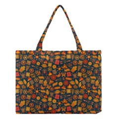 Pattern Background Ethnic Tribal Medium Tote Bag by BangZart