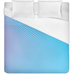 Background Graphics Lines Wave Duvet Cover (King Size)