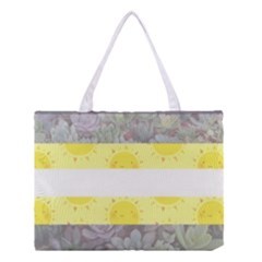 Nonbinary Flag Medium Tote Bag by AnarchistTransPride