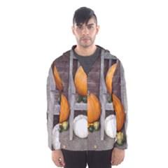Pumpkins And Gourds Hooded Wind Breaker (Men)