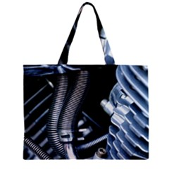 Motorcycle Details Zipper Mini Tote Bag by BangZart