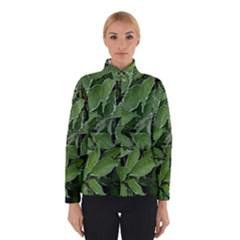 Texture Leaves Light Sun Green Winterwear by BangZart