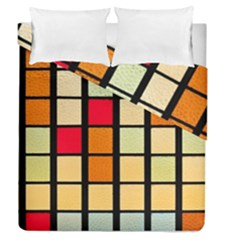 Mozaico Colors Glass Church Color Duvet Cover Double Side (queen Size)