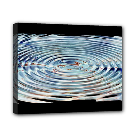 Wave Concentric Waves Circles Water Canvas 10  X 8  by BangZart