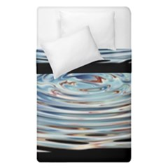 Wave Concentric Waves Circles Water Duvet Cover Double Side (single Size) by BangZart