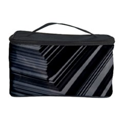 Paper Low Key A4 Studio Lines Cosmetic Storage Case by BangZart