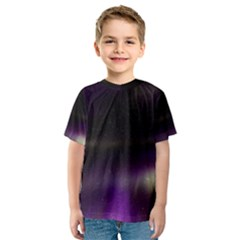 The Northern Lights Nature Kids  Sport Mesh Tee