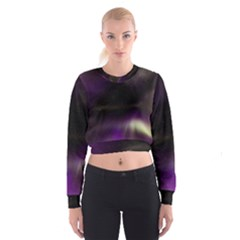 The Northern Lights Nature Cropped Sweatshirt