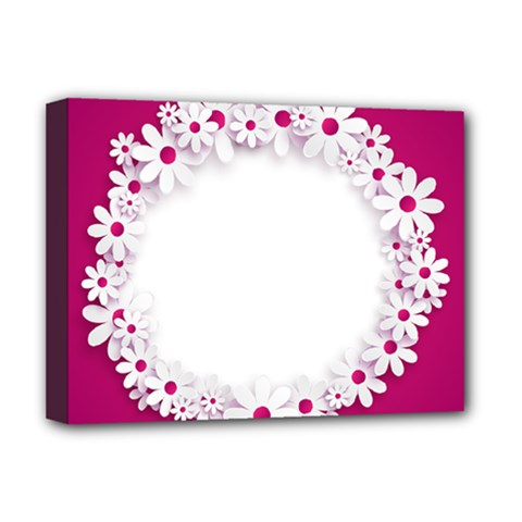 Photo Frame Transparent Background Deluxe Canvas 16  X 12   by BangZart