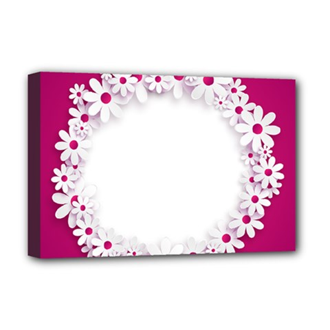 Photo Frame Transparent Background Deluxe Canvas 18  X 12   by BangZart
