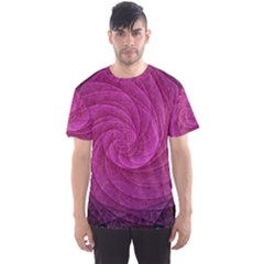 Purple Background Scrapbooking Abstract Men s Sports Mesh Tee
