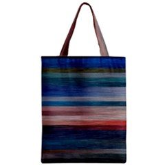 Background Horizontal Lines Classic Tote Bag by BangZart
