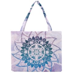 Mandalas Symmetry Meditation Round Mini Tote Bag by BangZart