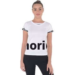 Livermorium 116 Short Sleeve Sports Top