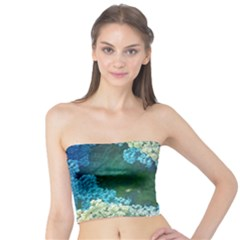 Fractal Formula Abstract Backdrop Tube Top by BangZart