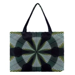 Lines Abstract Background Medium Tote Bag by BangZart