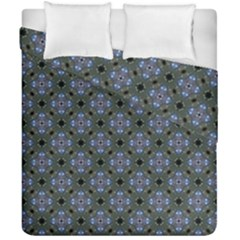 Space Wallpaper Pattern Spaceship Duvet Cover Double Side (california King Size)