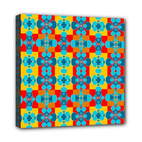 Pop Art Abstract Design Pattern Mini Canvas 8  X 8  by BangZart
