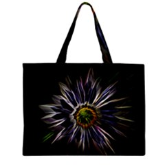 Flower Structure Photo Montage Zipper Mini Tote Bag by BangZart