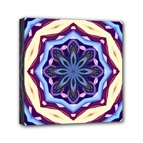 Mandala Art Design Pattern Mini Canvas 6  X 6  by BangZart
