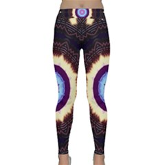 Mandala Art Design Pattern Classic Yoga Leggings