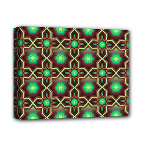 Pattern Background Bright Brown Deluxe Canvas 14  X 11  by BangZart