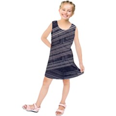 Fractal 3d Construction Industry Kids  Tunic Dress