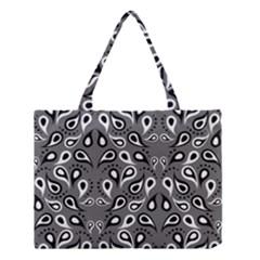Paisley Pattern Paisley Pattern Medium Tote Bag by BangZart
