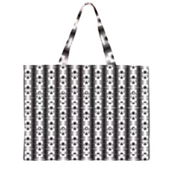 Pattern Background Texture Black Zipper Large Tote Bag by BangZart