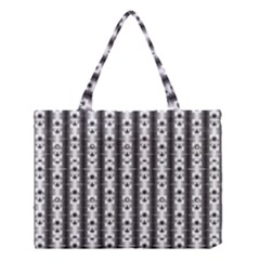 Pattern Background Texture Black Medium Tote Bag by BangZart