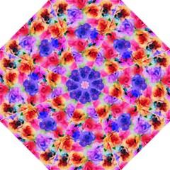 Floral Pattern Background Seamless Folding Umbrellas by BangZart