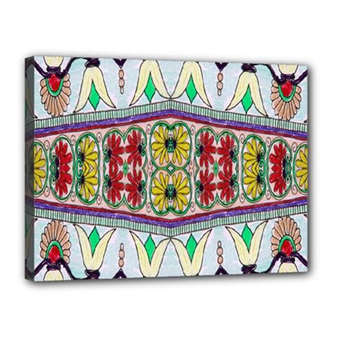 Kaleidoscope Background  Wallpaper Canvas 16  X 12  by BangZart