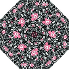 Oriental Style Floral Pattern Background Wallpaper Straight Umbrellas by BangZart