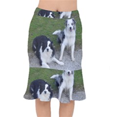 2 Border Collies Mermaid Skirt