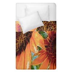 Sunflower Art  Artistic Effect Background Duvet Cover Double Side (single Size) by BangZart