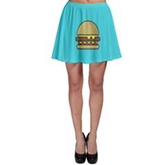 Yumyum  Skater Skirt by TheLimeGreenFlamingo