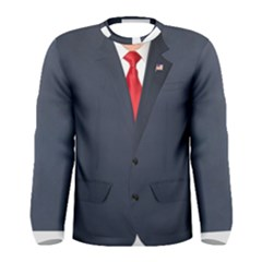 Donald Trump Suit Men s Long Sleeve Tee by daydreamer