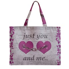 Shabby Chich Love Concept Poster Zipper Mini Tote Bag by dflcprints