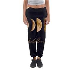 Moon Child Women s Jogger Sweatpants by Valentinaart