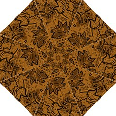 Art Traditional Batik Flower Pattern Straight Umbrellas by BangZart