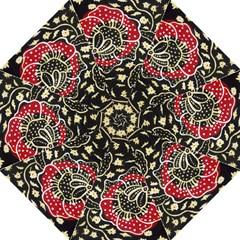 Art Batik Pattern Straight Umbrellas by BangZart