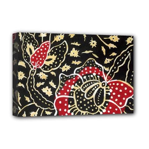 Art Batik Pattern Deluxe Canvas 18  X 12   by BangZart