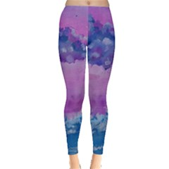 Rising To Touch You Leggings  by Dimkad