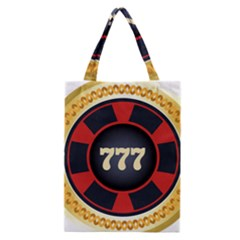 Casino Chip Clip Art Classic Tote Bag by BangZart
