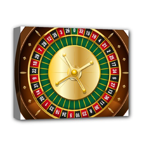 Casino Roulette Clipart Deluxe Canvas 14  X 11  by BangZart