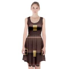 Brown Bag Racerback Midi Dress