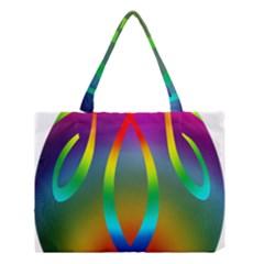 Colorful Easter Egg Medium Tote Bag by BangZart